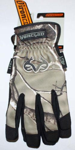 Ironclad Men's Force AP Realtree Camo Gloves #RT-WFGC-03-M (Medium) 07193
