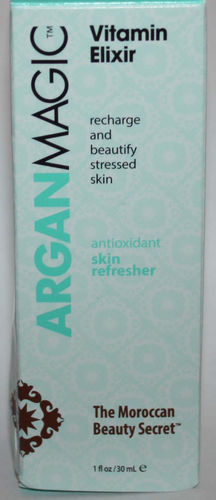 Argan Magic Vitamin Elixir Antioxidant Face & Neck Skin Refresher 1 oz 06998