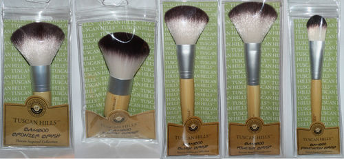TUSCAN HILLS Bamboo Cosmetic Makeup Blush Brush 06861
