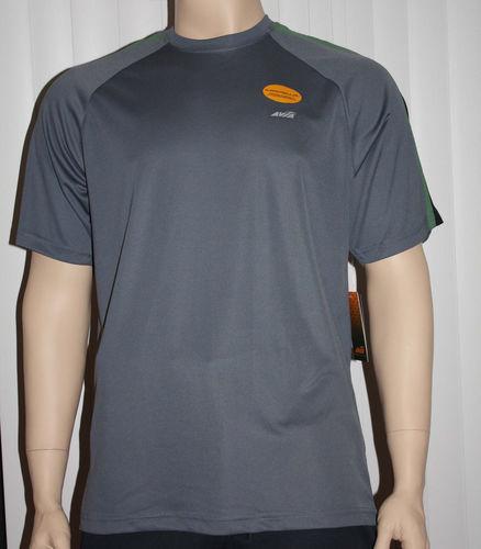 Avia Men's Dri-Control UPF 25 /UV Protection Shirt - Gray (Several Sizes) 06778