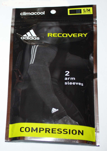 adidas Climacool RECOVERY 1 Pair Men's Compression Arm Sleeves -Magenta (S/M) 06579