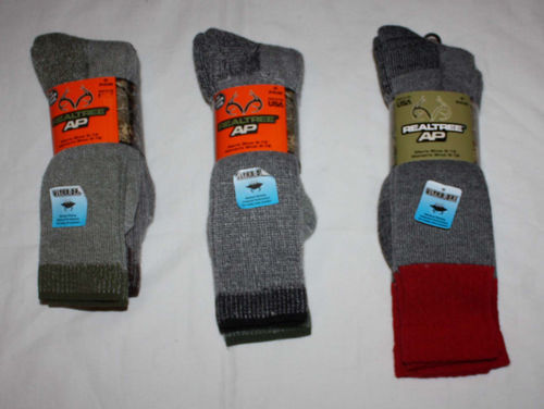 2 Pair Jordan Outdoor Unisex REALTREE AP All Season Wear Socks (several choices) 06369