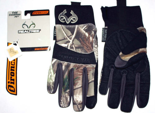 Ironclad Men's COLD CONDITION AP Realtree Camo Gloves #RT-CCG (Several Sizes) 05755