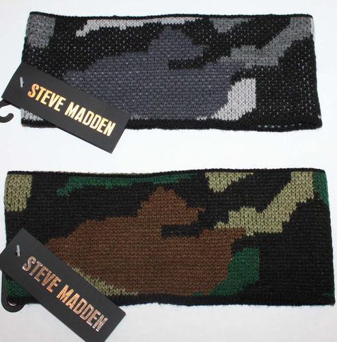 "Steve Madden Women's 3 ½"" Camouflage Hairband Headband (One Size) 03837"