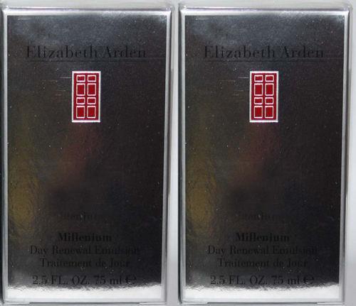 Lot Of 2 ELIZABETH ARDEN Millenium Day Renewal Emulsion 2.5 oz  Each