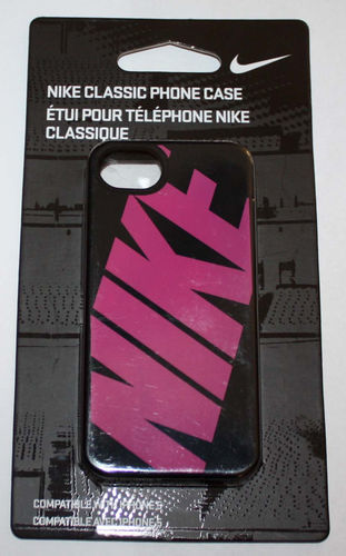Nike Classic Soft Case For IPhone 5 -Black with Graphics 03351