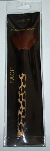 Aymie B' Professional Collection Leopard Print Face Brush 03254