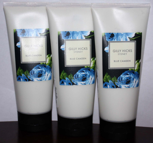 Lot Of 3 GILLY HICKS SYDNEY Blue Camden Hand & Body Cream 6.7 oz Each 03064