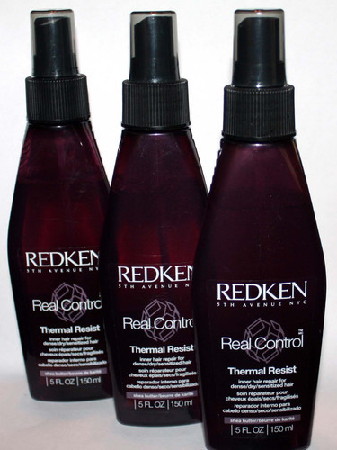 3 Redken Real Control Thermal Resist Inner Hair Repair Spray 5 oz Each (REDUCED)