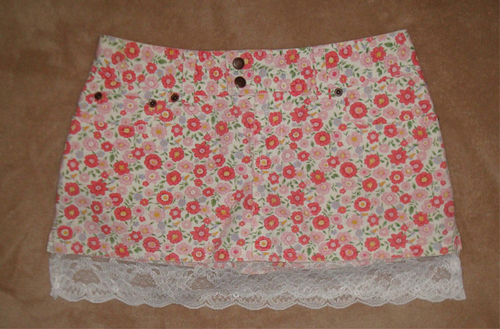 Abercrombie Kids Girl's Floral Lace Skort (Size 14) *Reduced* 02591