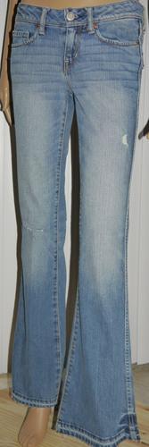 American Eagle Women's Vintage Flare Distressed Denim Jeans (0 Regular) 02254