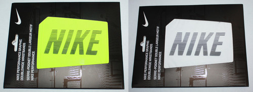 "NIKE Performance Graphic Double-Wide 5"" Wristbands (Several Colors) 02134"