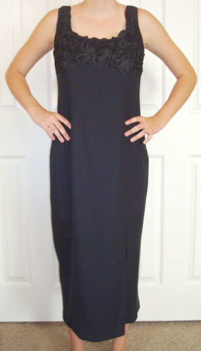 LAUNDRY By Shelli Segal Black Formal Dress (Size 10) *Reduced* 02044