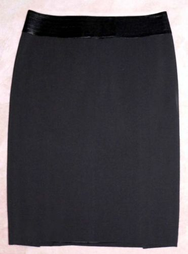 Laundry By Shelli Segal Black Lined Tuxedo Skirt (Size 2) *Reduced* 02043