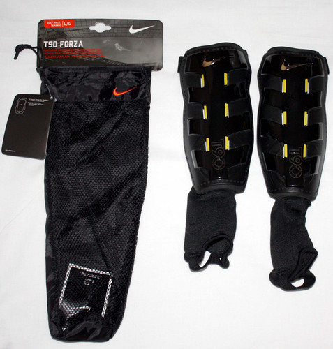 Nike Adult Unisex T90 FORZA Ventilated Shinguards With Reinforced Tibia (Small) 01788