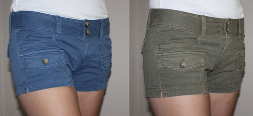 American Eagle Women's SHORTIE Military Shorts 01596