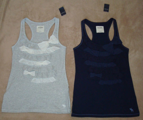 Abercrombie Kids Girl's Ruffled Bow Tank Top (Large) *Reduced* 00876