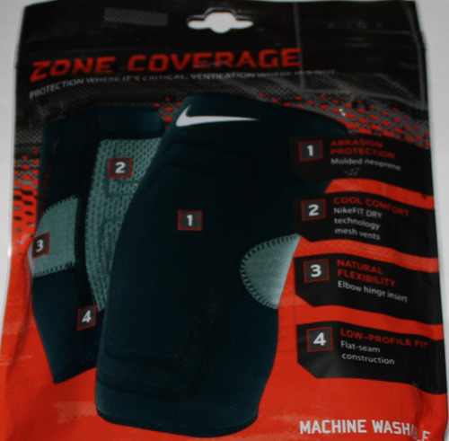 Nike Unisex 1 Pair Vented Neo Elbow Sleeve With Dri-Fit Dry Technology -X-Small/Small 00540
