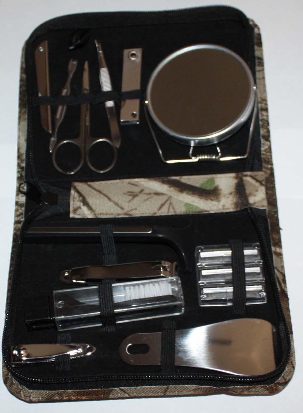 Bill Jordan Realtree Hardwoods Deluxe Camo Manicure Set