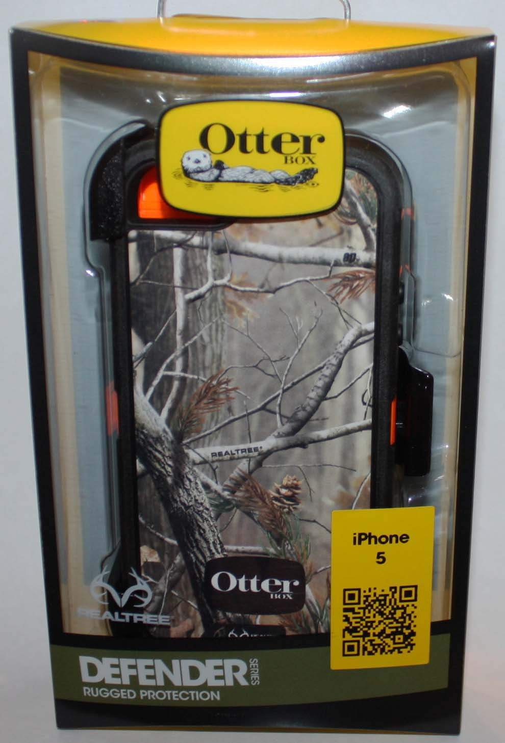 OtterBox DEFENDER Realtree Camo iPhone 5 Hard Shell Protective Phone Case 09550
