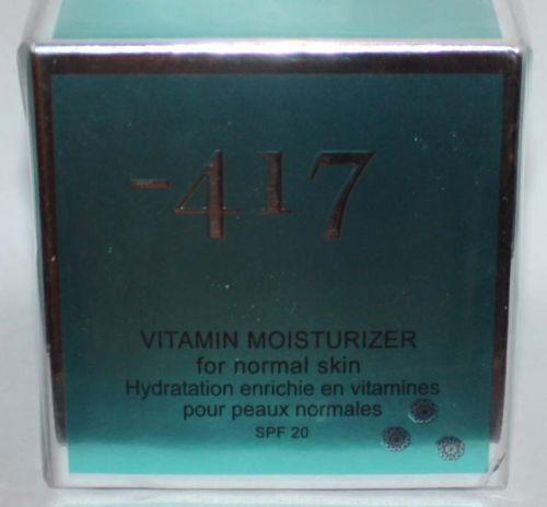 Minus -417 Dead Sea Cosmetics Vitamin Moisturizer For Noraml Skin 1.7 oz 09868