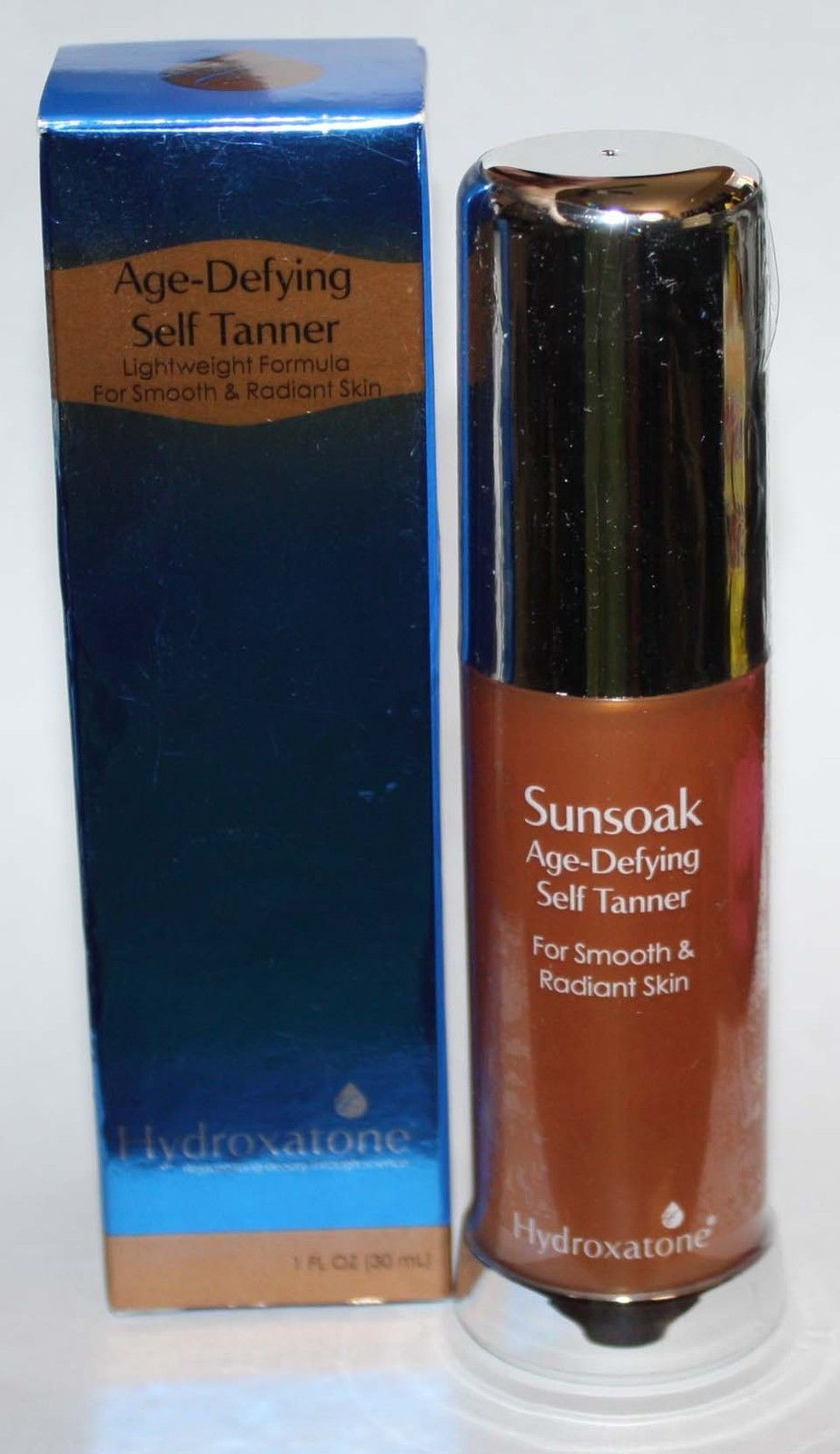 Hydroxatone Sunsoak Age-Defying Self Tanner 1 oz *Reduced* 10306