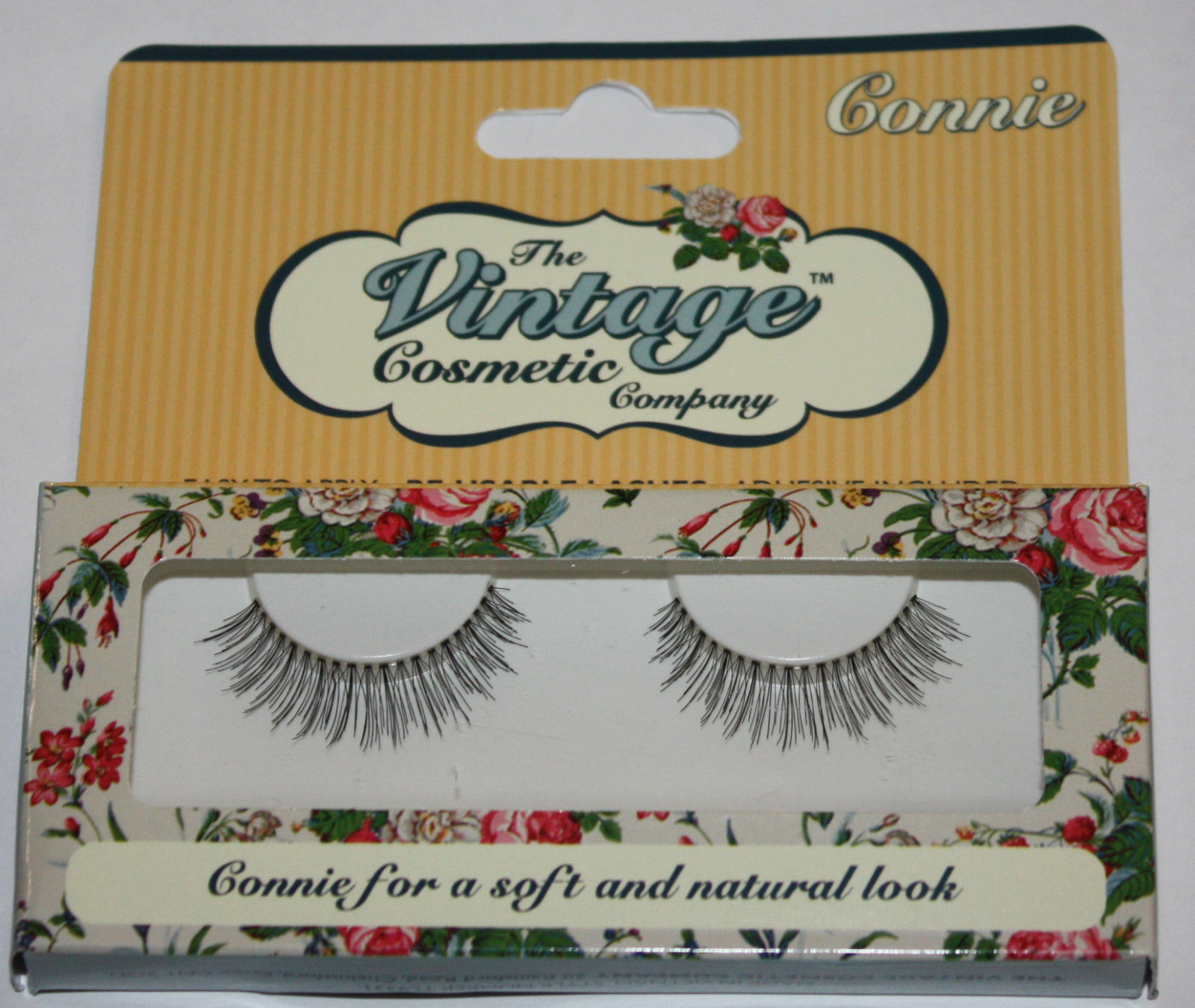 The Vintage Cosmetic Company CONNIE Re-Usable False Eye Lashes 10451