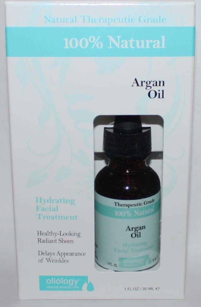 Oliology 100% Natural Argan Oil Hydrating Facial Treatment 1 oz 10515