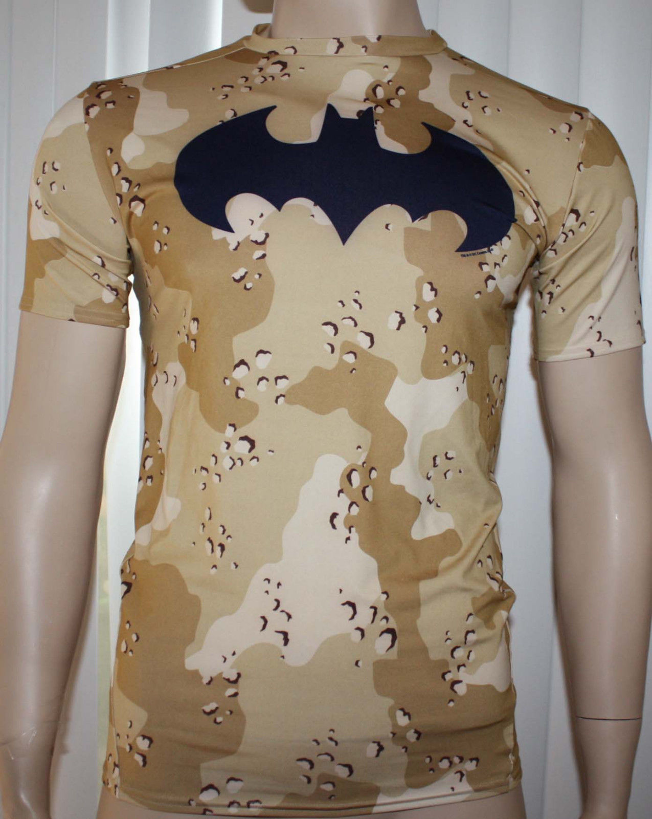 Under Armour ALTER EGO Men's Camo/Navy UA Batman Compression Shirt - X-Large 10742