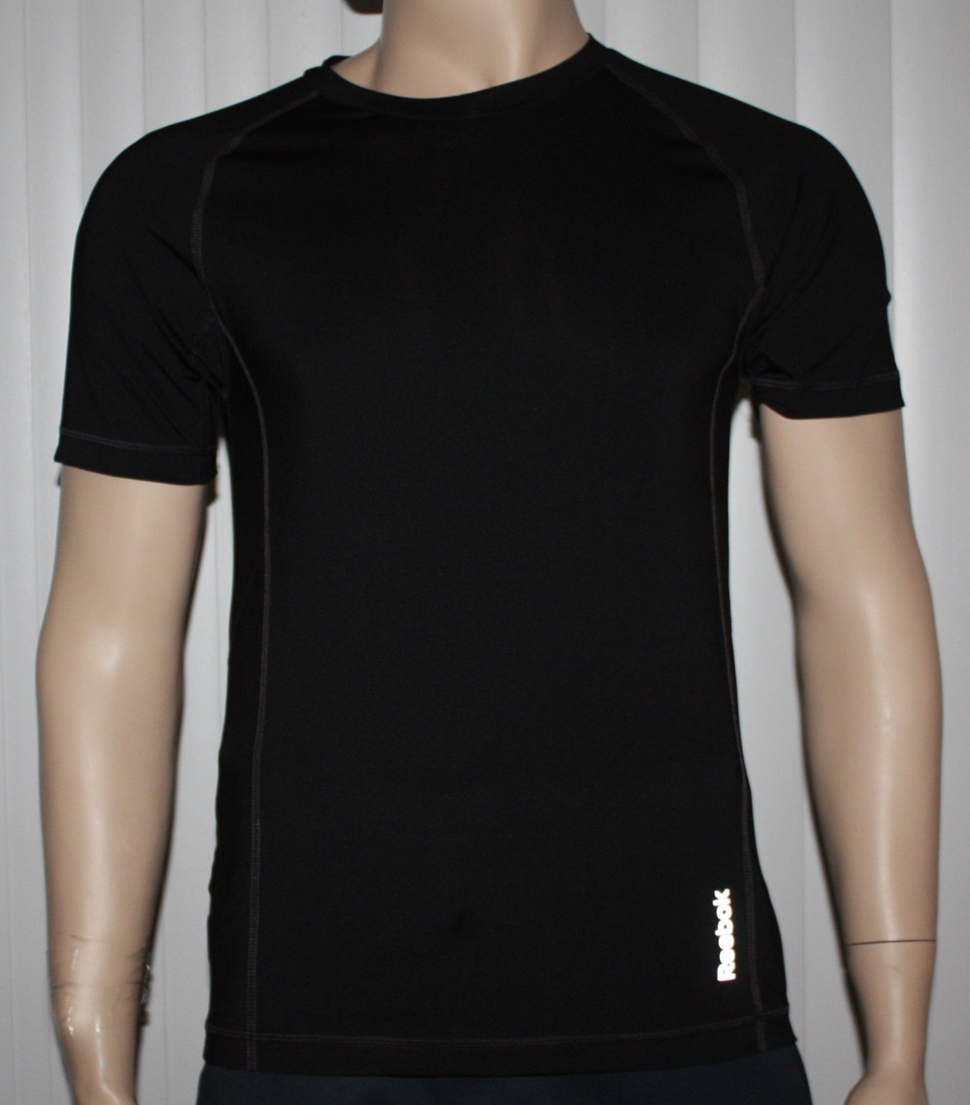Reebok SPORT Men's Black Compression Shirt Top (Several Sizes) 10786