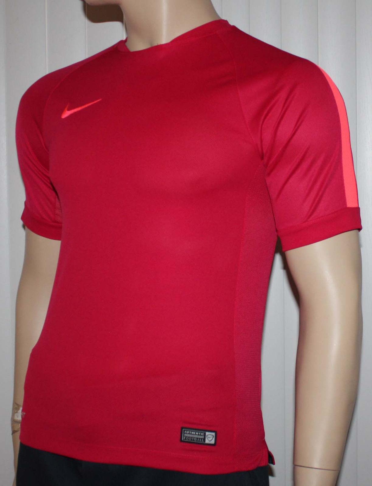 Nike Men's Squad Flash Dri-Fit Fuchsia Force/Hyper Punch Swoosh Shirt (Several Sizes) 11140