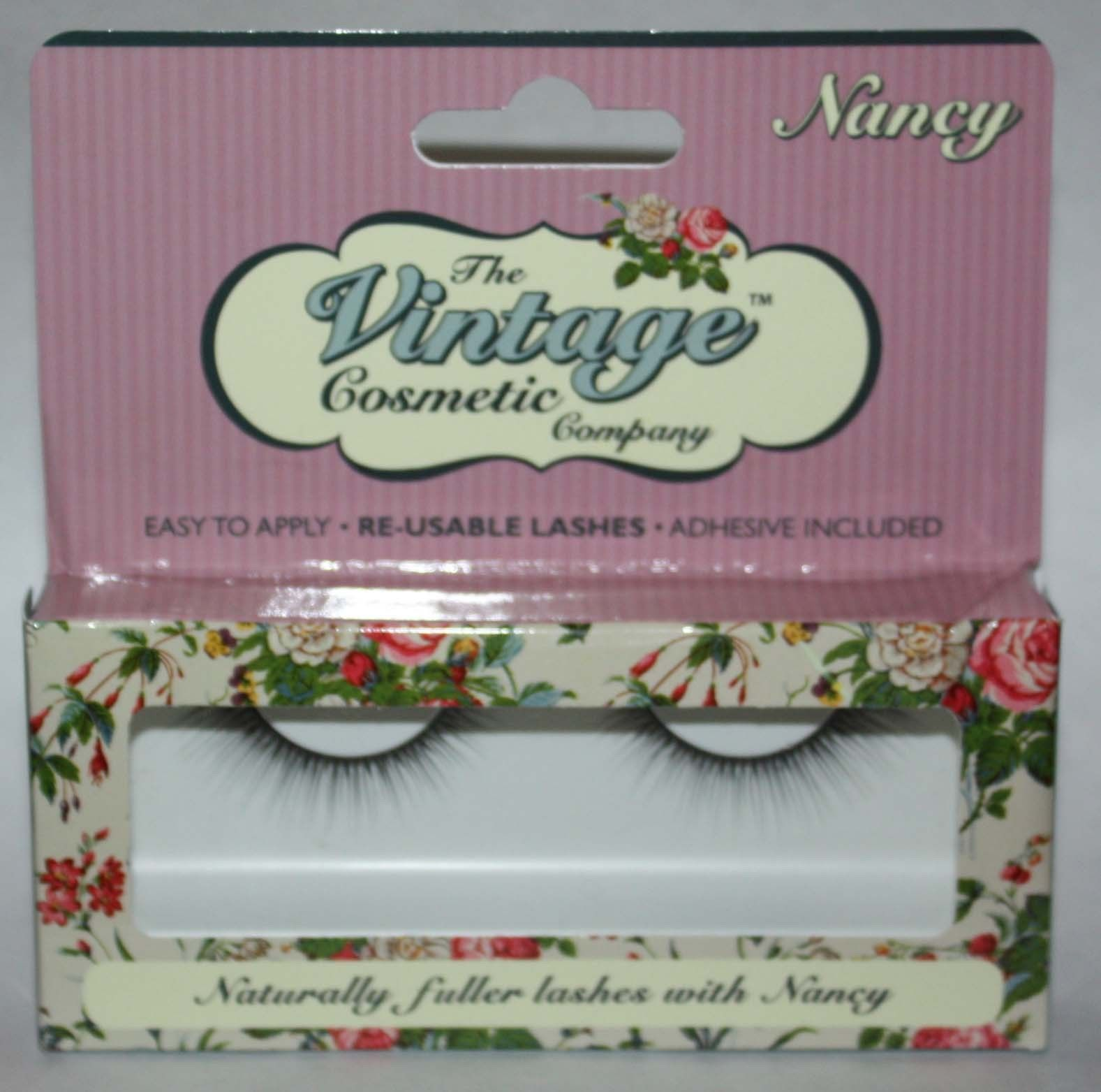 The Vintage Cosmetic Company NANCY Re-Usable False Eye Lashes 11200