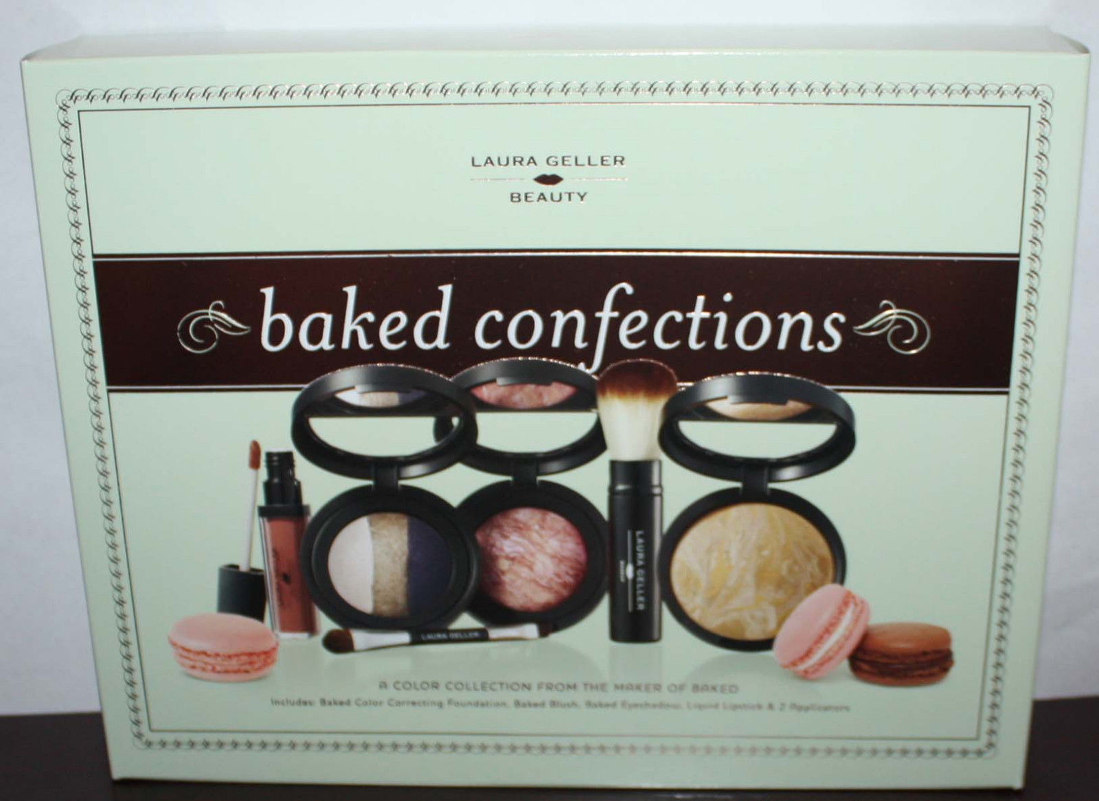 Laura Geller BAKED CONFECTIONS Foundation/Blush/Eyeshadow/Lipstick/Applicators 11381