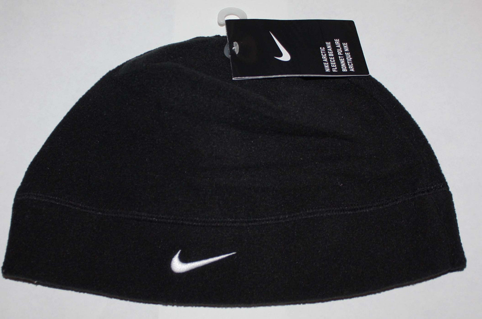 52a2937b766 Nike Arctic Adult Unisex Fleece Beanie Hat- Black (One Size) 11703
