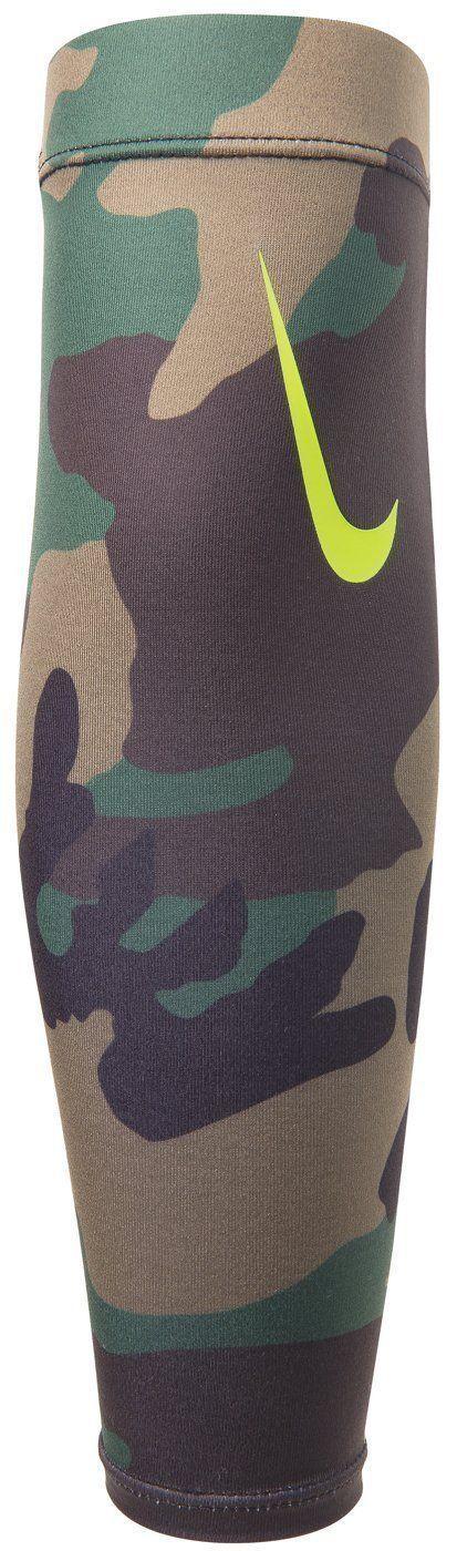 Nike Unisex Pro Combat Amplified Shiver 3.0 Iguana/Black/Volt Swoosh (One Size) 12078