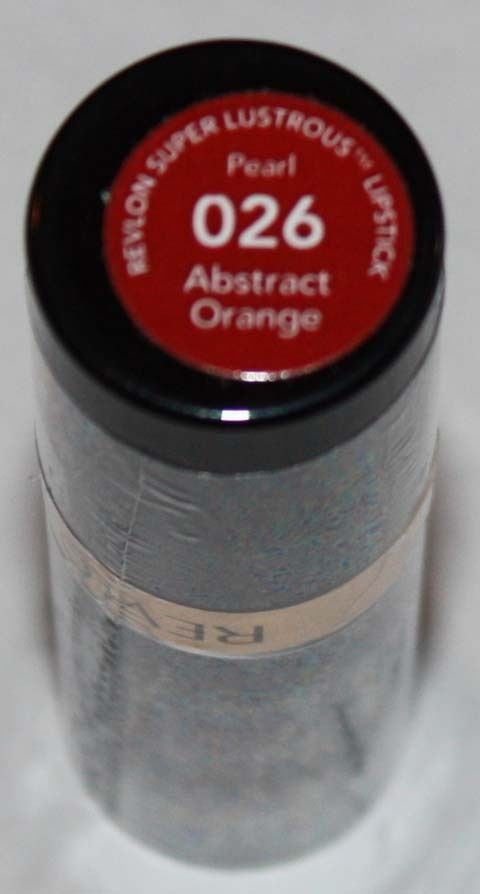 Revlon Super Lustrous Pearl Lipstick .15 oz  -Abstract Orange #026