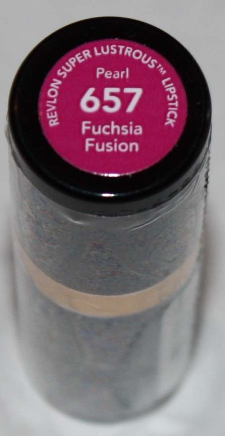 Revlon Super Lustrous Pearl Lipstick .15 oz  -Fuchsia Fusion #657