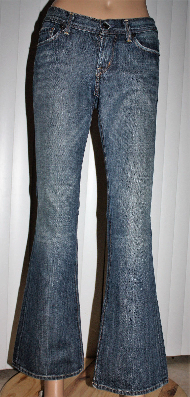 Citizens Of Humanity INGRID #002 Womens Low-Waist Flair Denim Jeans (25 Regular) -Pre-owned 12139