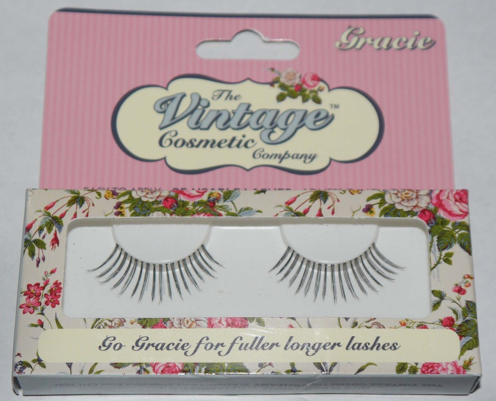 The Vintage Cosmetic Company GRACIE Re-Usable False Eye Lashes 12391