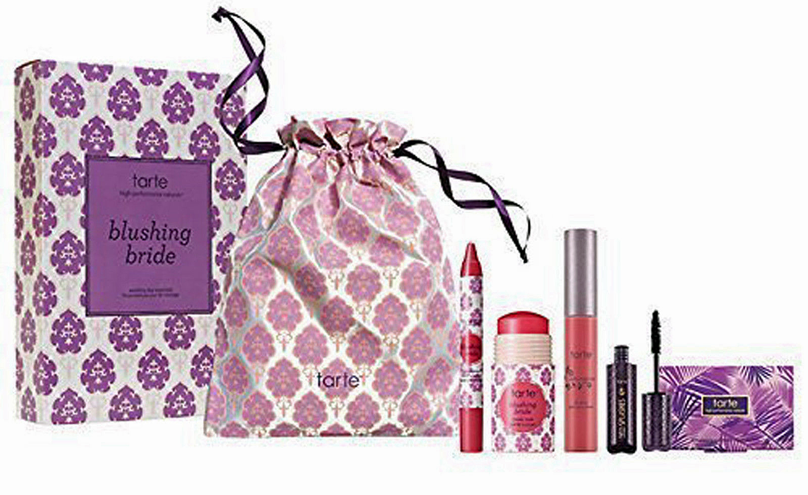 Tarte Blushing Bride Wedding Day Essentials Makeup Set 12412