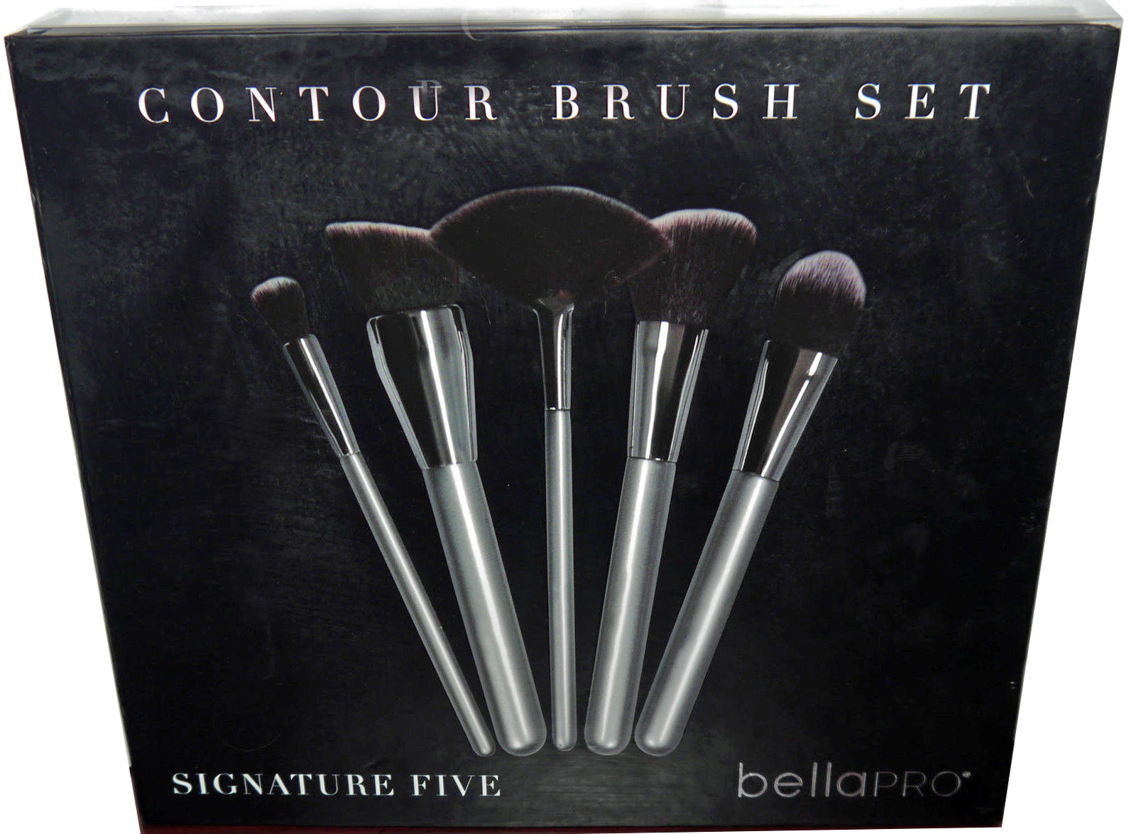 Bella Pro Signature Five Silver Contour Brush Set 12646