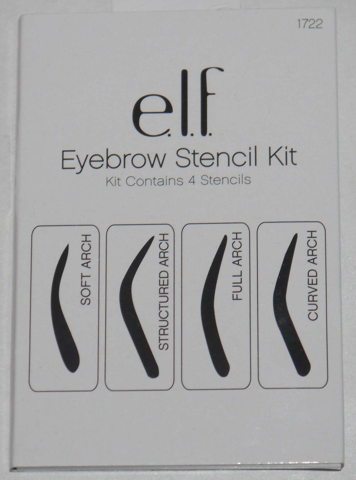 elf Cosmetics 4 Shapes Eyebrow Stencil Kit #1722 12667