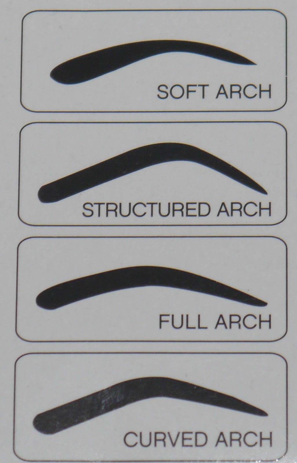 elf Cosmetics 4 Shapes Eyebrow Stencil Kit #1722