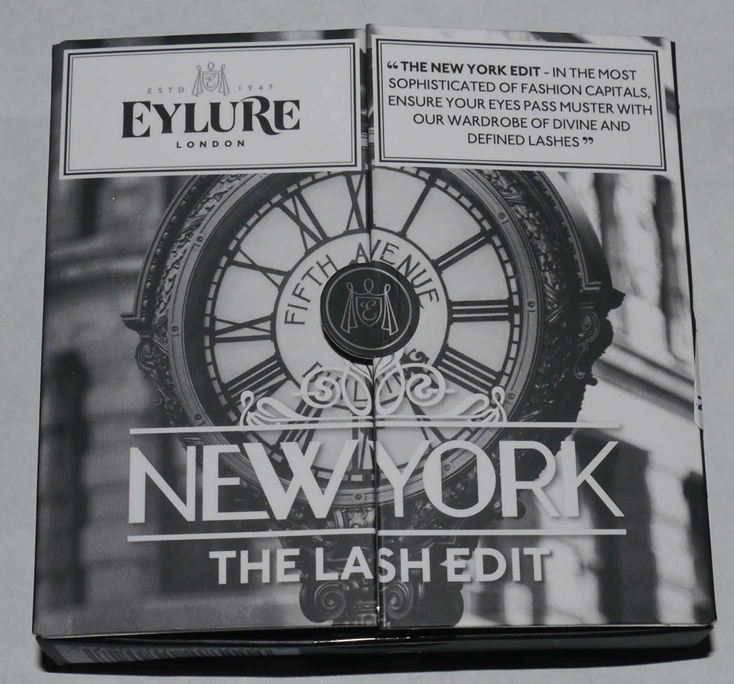 Eylure London Set of 3 The Lash Edit - New York Re-Usable False Eye Lashes 12746