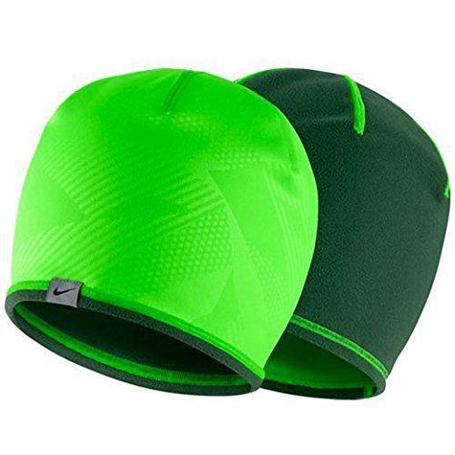 Nike Golf Unisex Reversible 2.0 Green Strike/Gorge Green Beanie (One Size) 13250