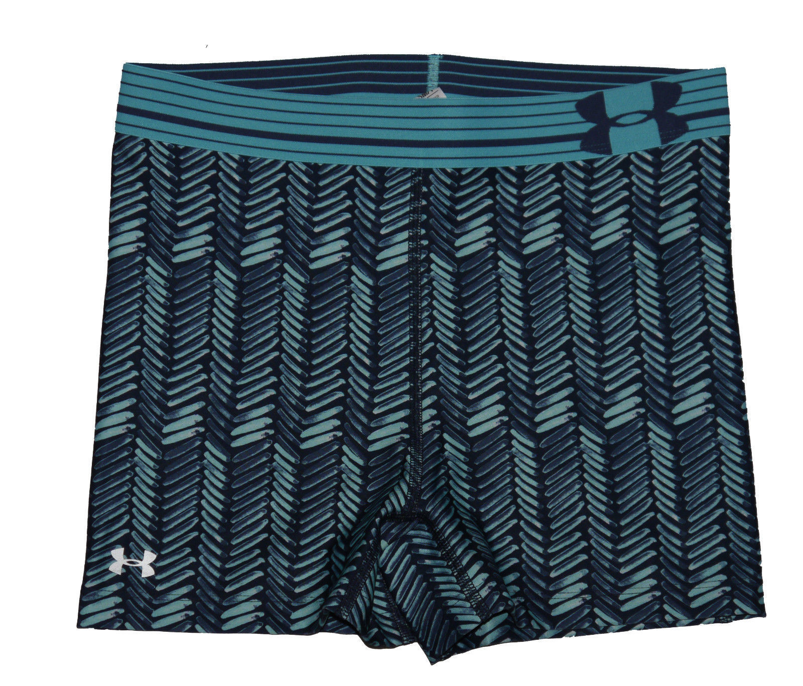 "Under Armour Women's Jazz Blue/Midnight Navy 3"" Shorty Compression Shorts (Small) 13266"
