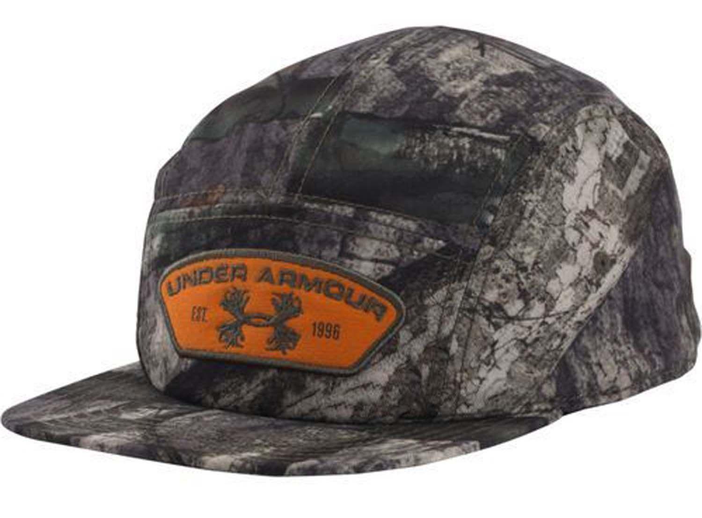 Under Armour Men's Mossy Oak Camo Antler Logo Patch Adjustable Cap 13316