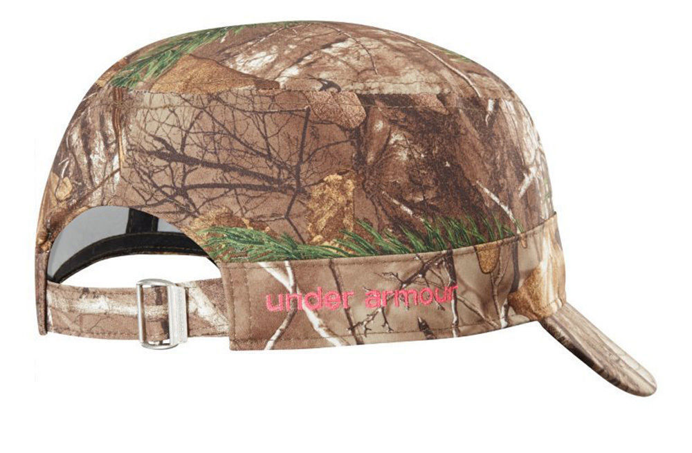 Under Armour Women's Realtree/Pinkadelic UA Adjustable Military Hat Cap