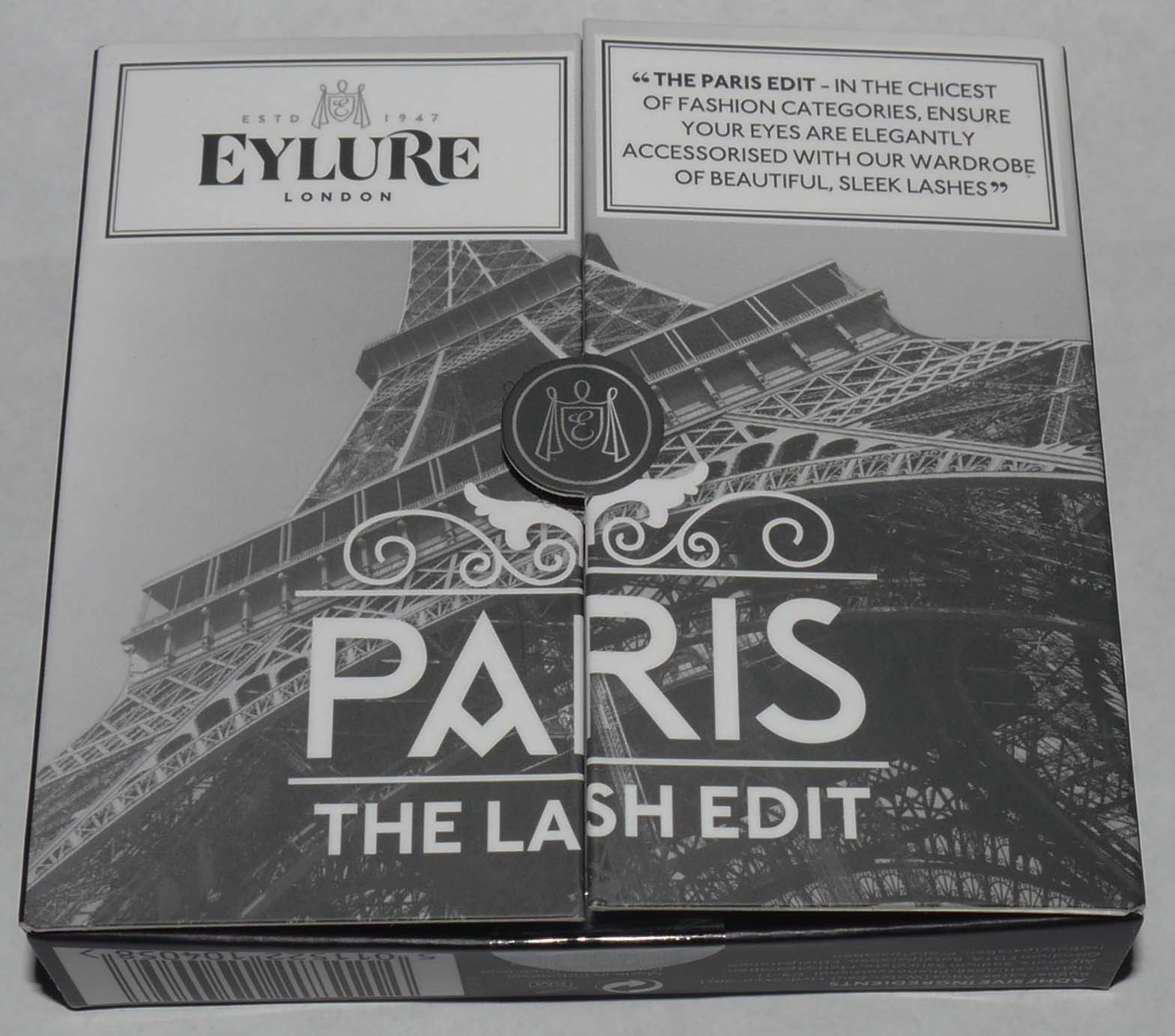 Eylure London Set of 3 The Lash Edit - Paris Re-Usable False Eye Lashes 13832