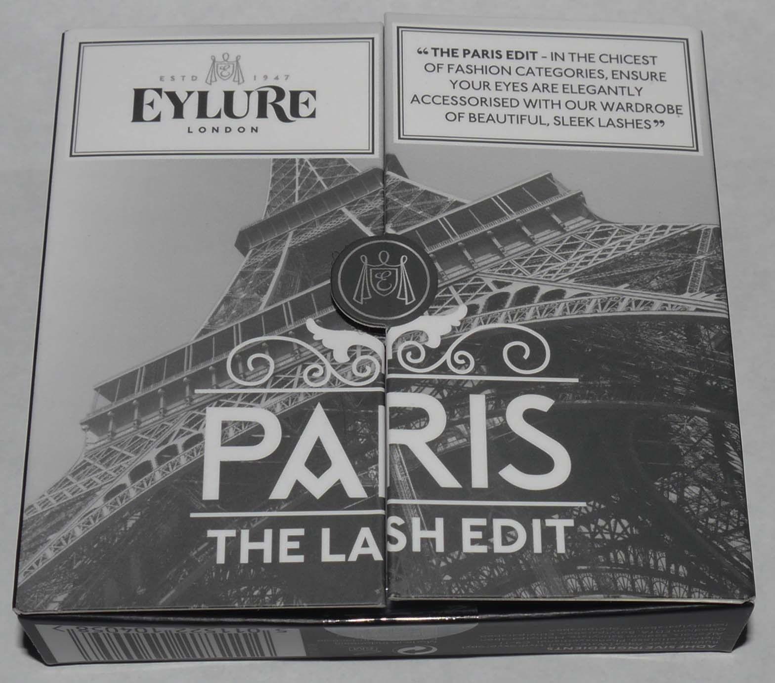 Eylure London Set of 3 The Lash Edit - Paris Re-Usable False Eye Lashes 13832